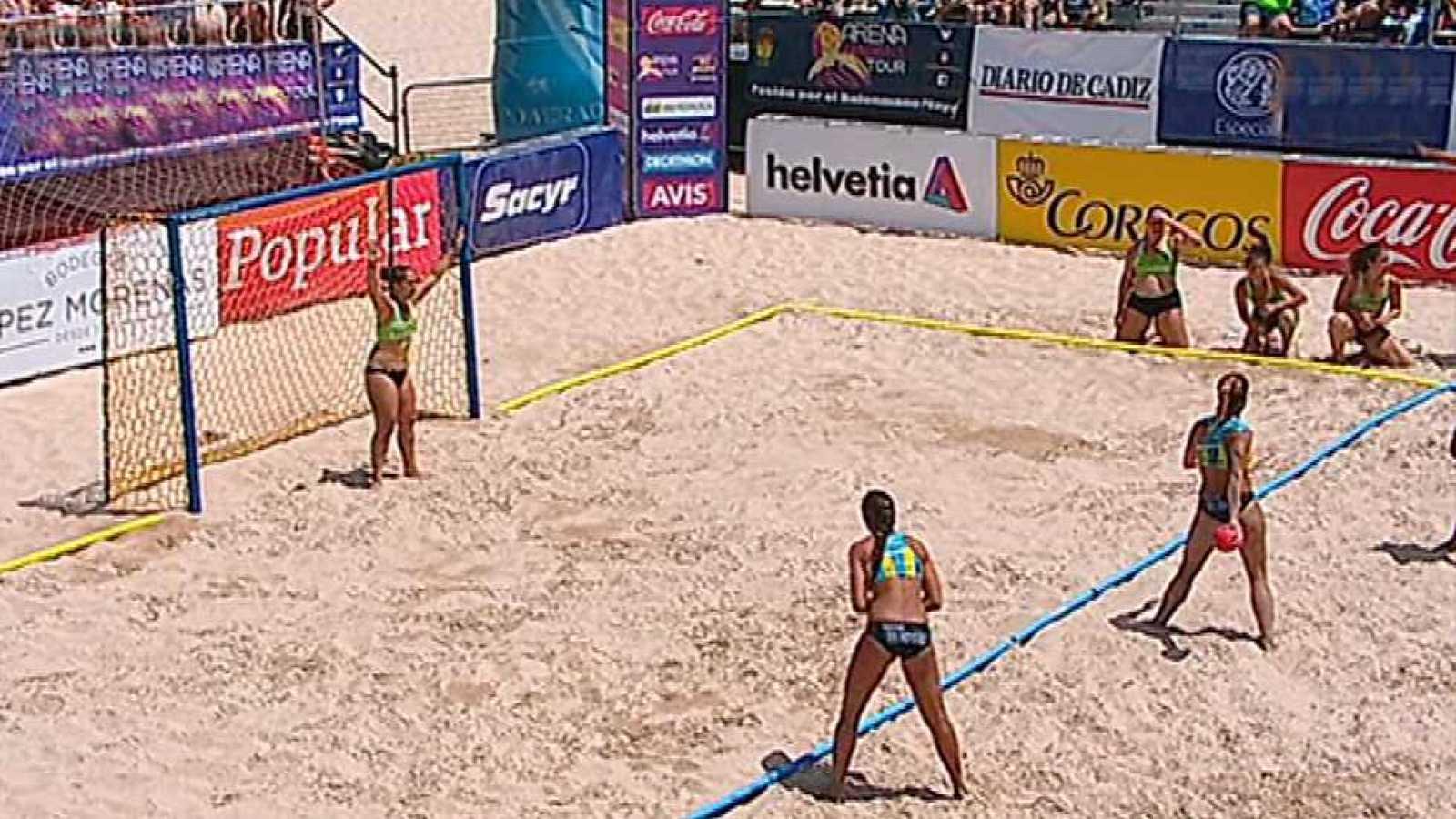 Balonmano Playa - Arena Handball Tour 3 Prueba Cádiz. Final Femenina - ver ahora
