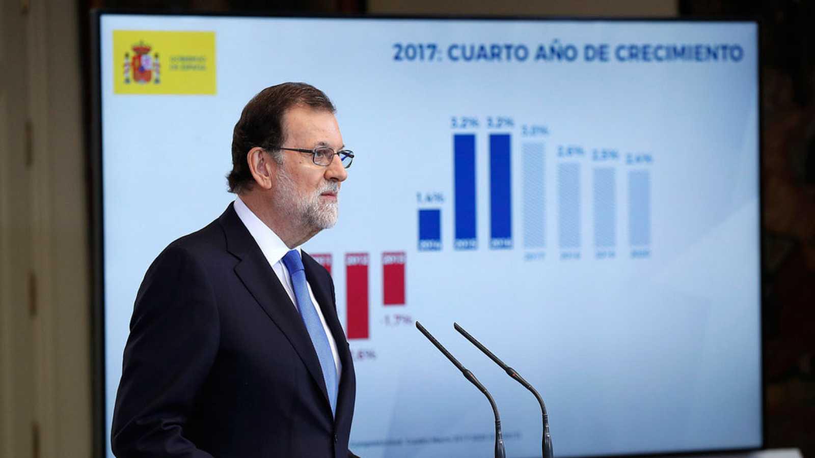 Rajoy asegura que se ha recuperado el nivel de riqueza de antes de la crisis