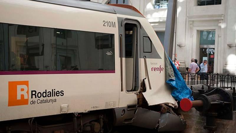 La comisión de investigación determinará las causas del accidente de tren en la Estación de Francia de Barcelona