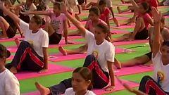 Unidos por le patrimonio - Yoga (India)