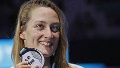 Mireia Belmonte cierra su Mundial con una nueva plata en 400 estilos