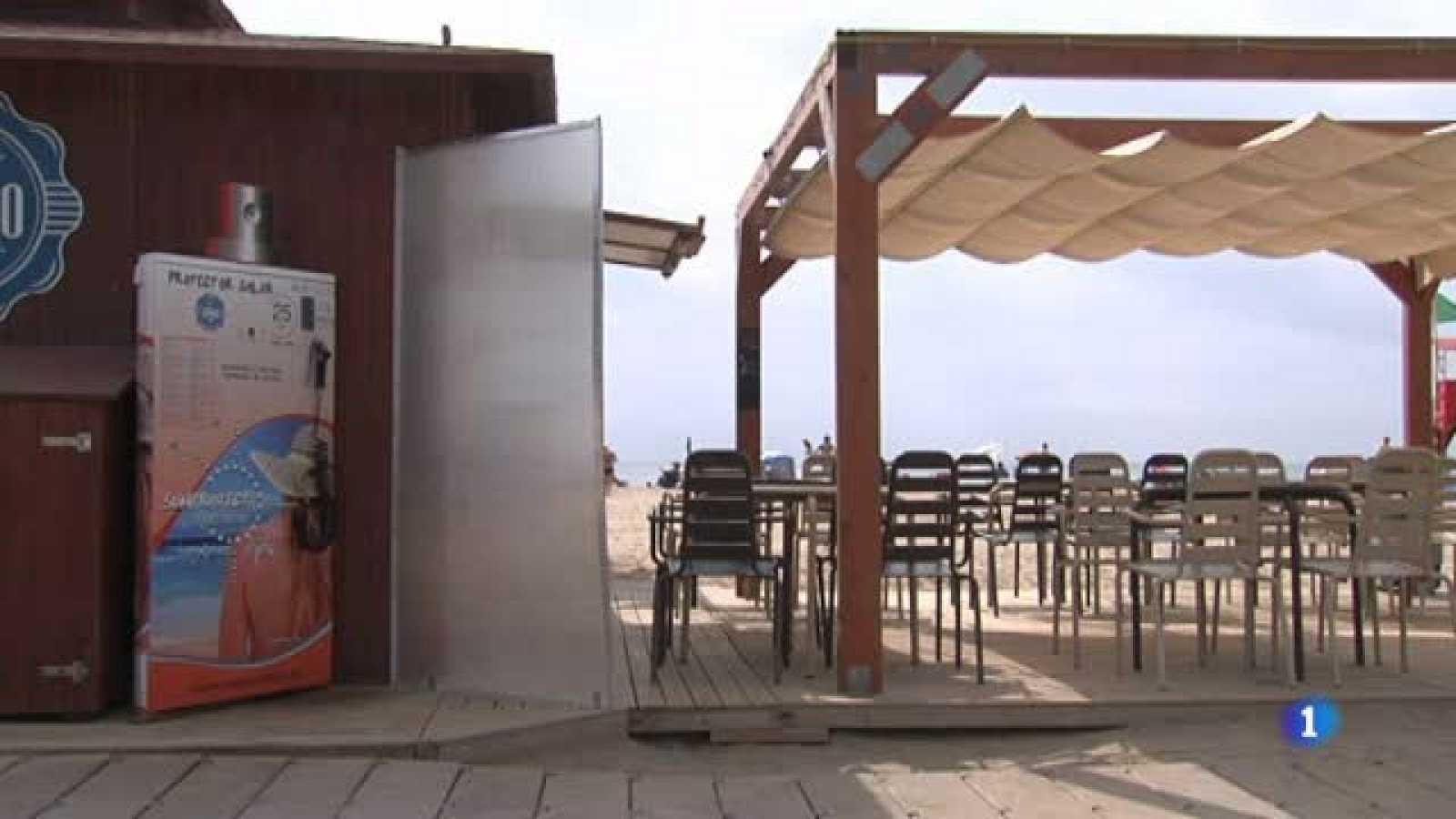 El dispensador automàtic de crema solar inventat a Girona