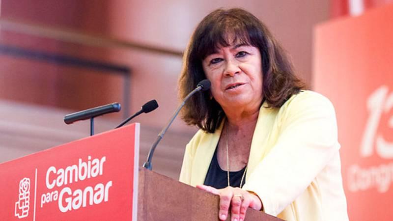 Cristina Narbona pide a los catalanes que no participen en una votación que  dice debería evitarse