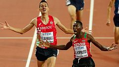 Kipruto, campeón del mundo de 3.000m obstáculos