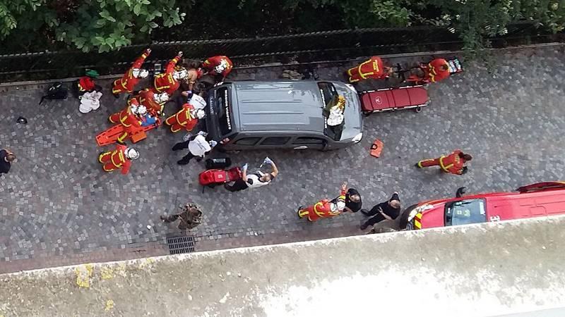 Al menos seis heridos en el atropello a una patrulla militar del dispositivo antiterrorista francés
