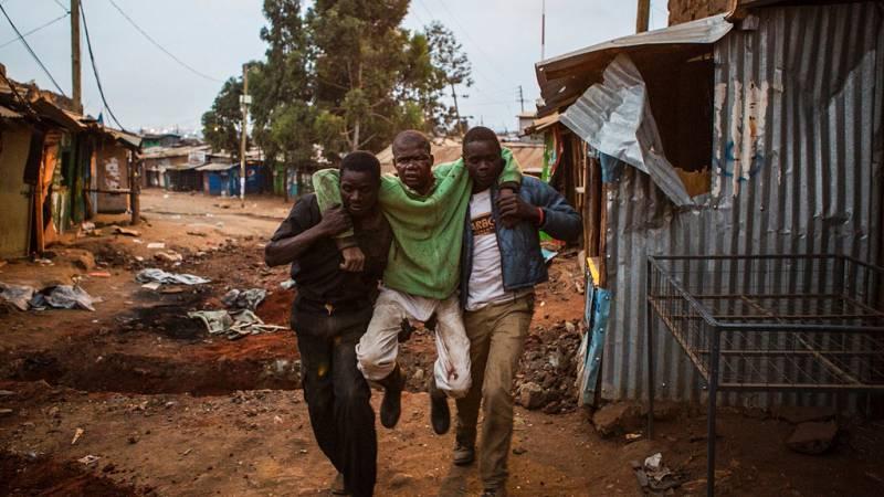 La oposición rechaza los resultados electorales en Kenia y ha tomado las calles