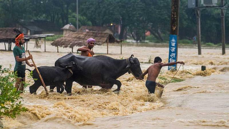 Aumenta a 49 el número de muertos por las inundaciones y deslizamientos de tierra en Nepal