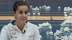 Badminton - Reportaje Carolina Marín. Previo mundial