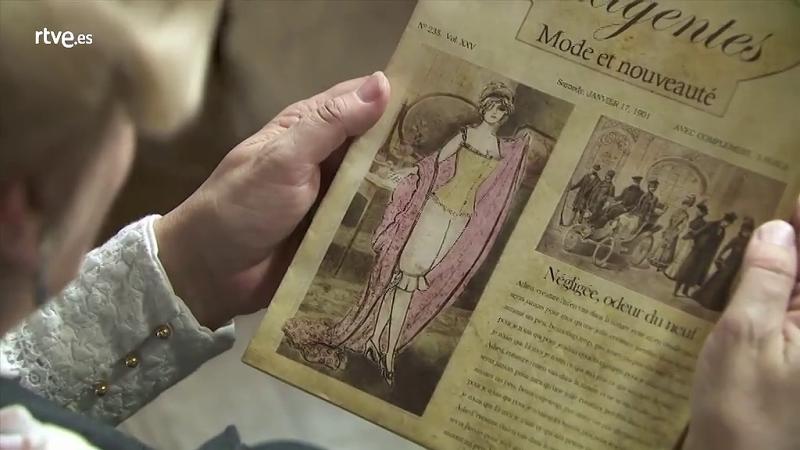 Acacias 38 - Celia se atreve con un traje 'escandaloso' para la época