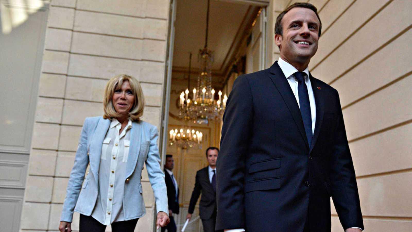Brigitte Macron Y El Papel De La Esposa Del Presidente En Francia Rtve Es