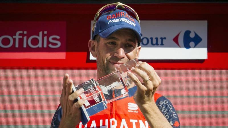 Nibali gana la etapa y Froome se viste de rojo