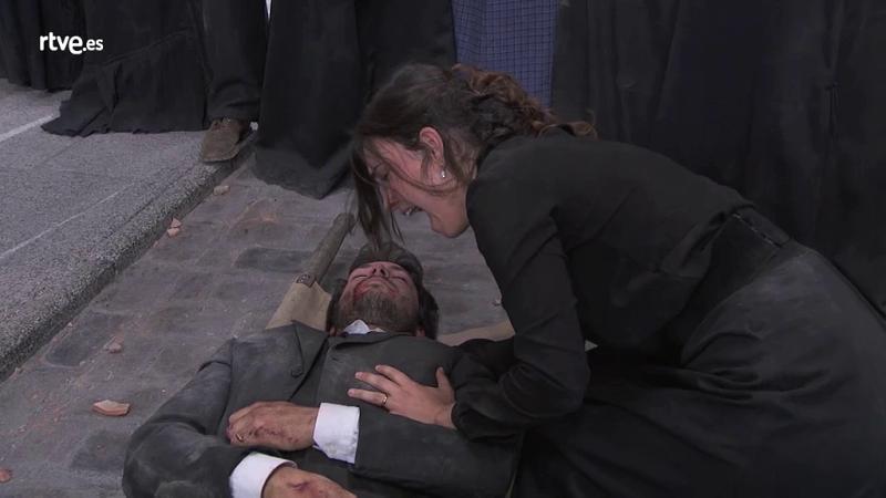 Acacias 38 - Pablo muere en brazos de Leonor