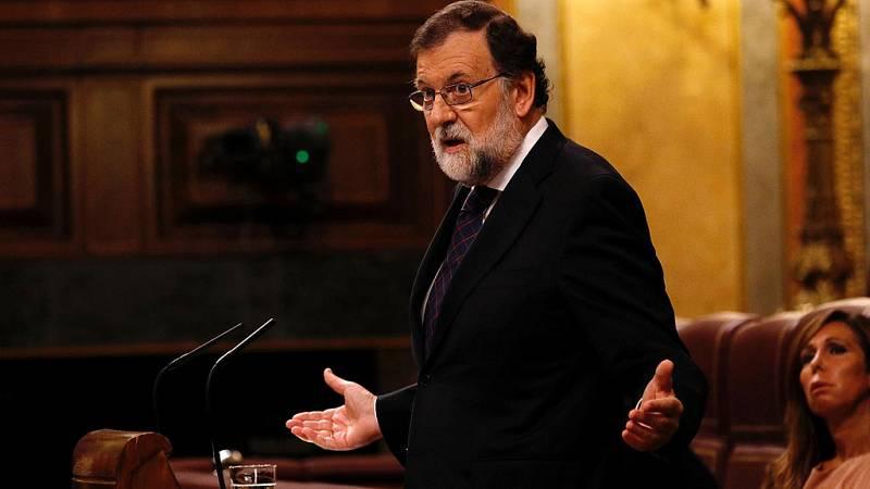 """Rajoy: """"La corrupción se sanciona en los tribunales y en las urnas"""""""