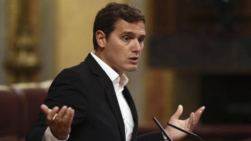 """Rivera le dice a Rajoy que no tiene """"palabra"""" y que tendrá que hablar de 'Gürtel' en una comisión de investigación"""