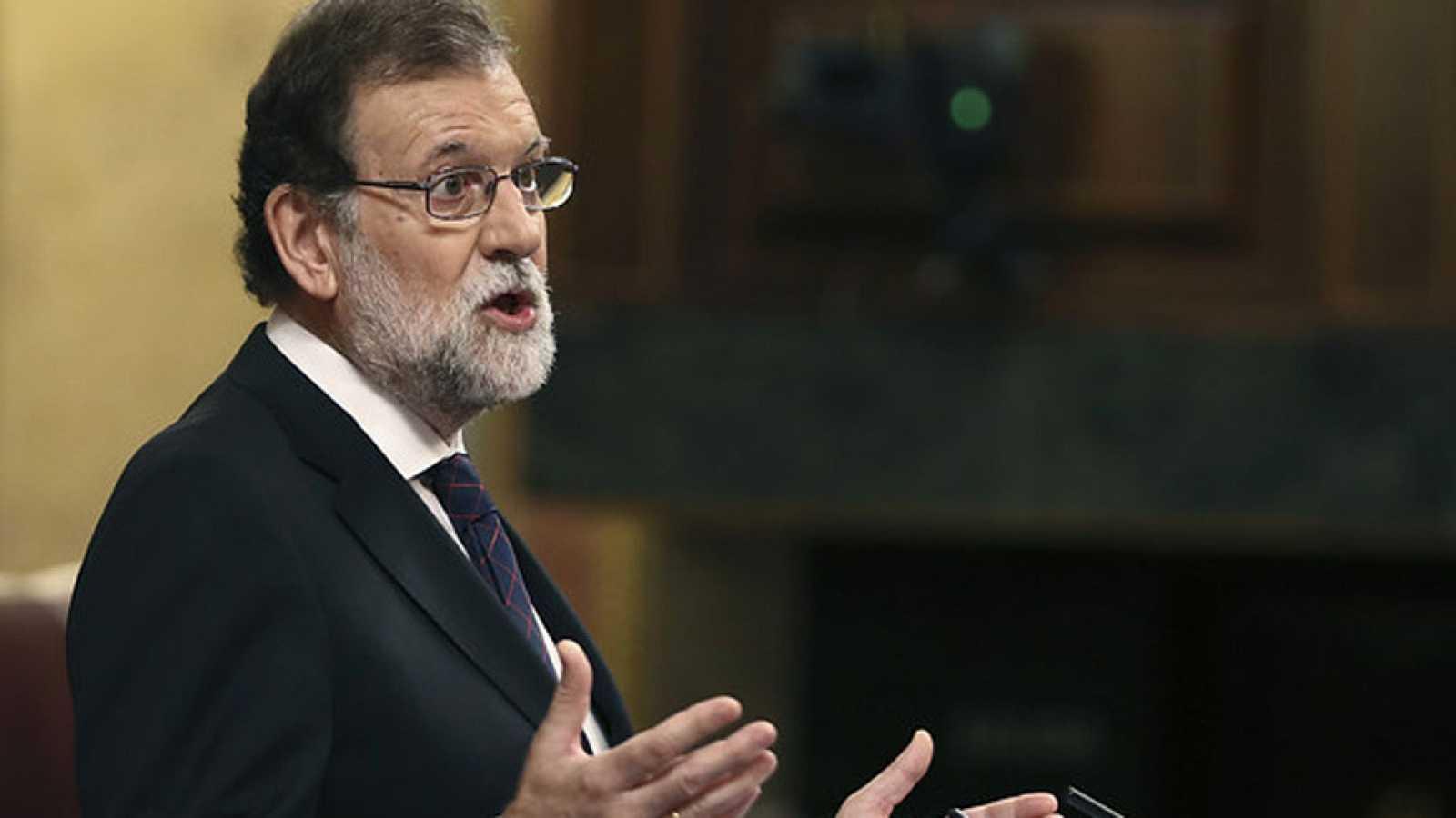 Mariano Rajoy defiende su gestión y reta a la oposición a presentar otra moción de censura