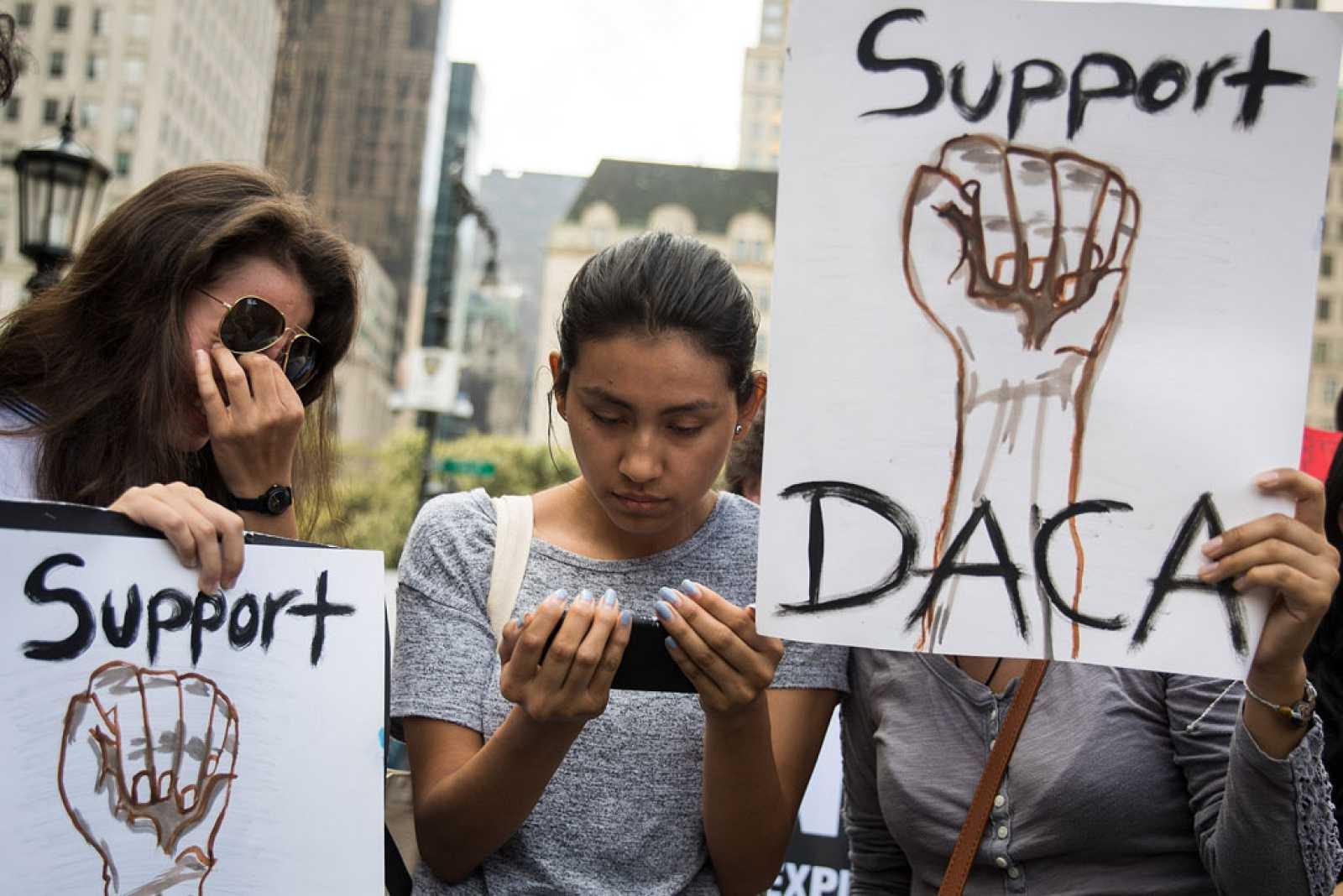 Trump elimina el plan que protegía de la deportación a los indocumentados que llegaron a EE.UU. siendo menores
