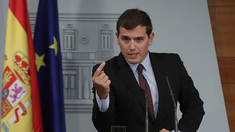 Albert Rivera muestra su apoyo sin fisuras a Rajoy