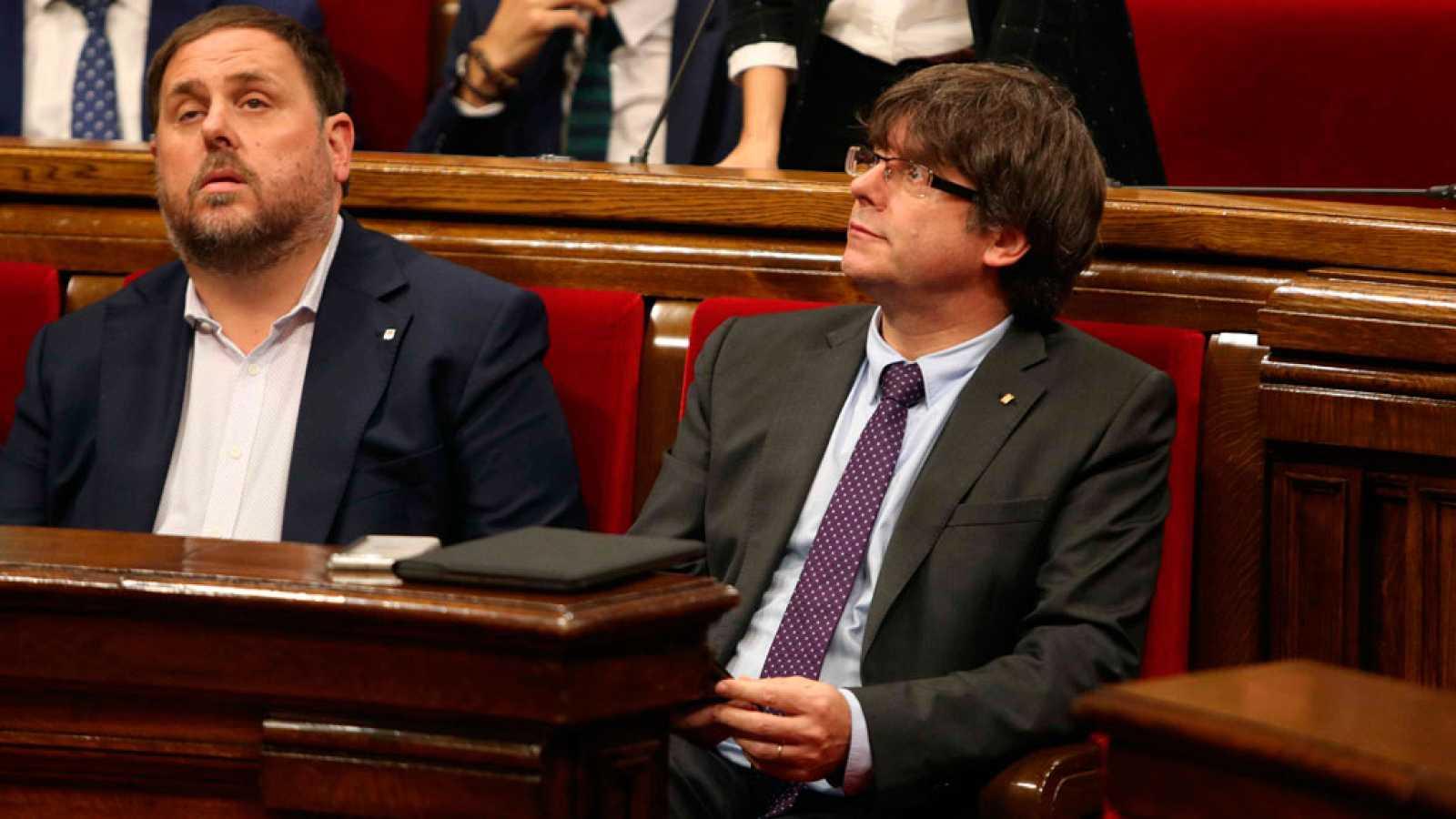 El Constitucional suspende el referéndum de Cataluña de forma cautelar al admitir los recursos del Gobierno