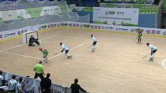 Hockey patines - World Roller Games 2017. Campeonato del Mundo Masculino: 2ª Semifinal: Argentina-Portugal