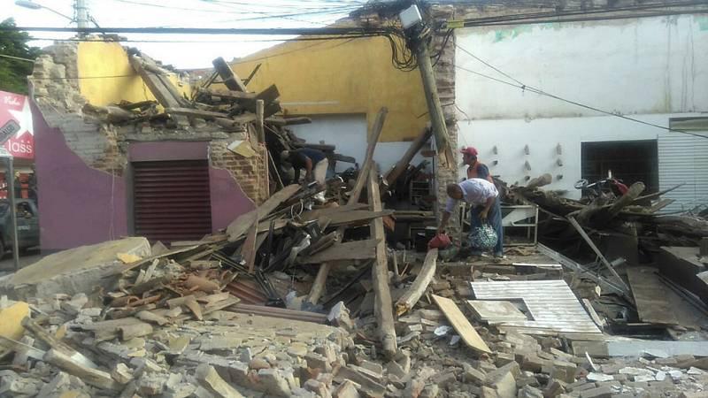 """""""En mi vida había sentido algo tan feo"""", relata una testigo del terremoto en México"""