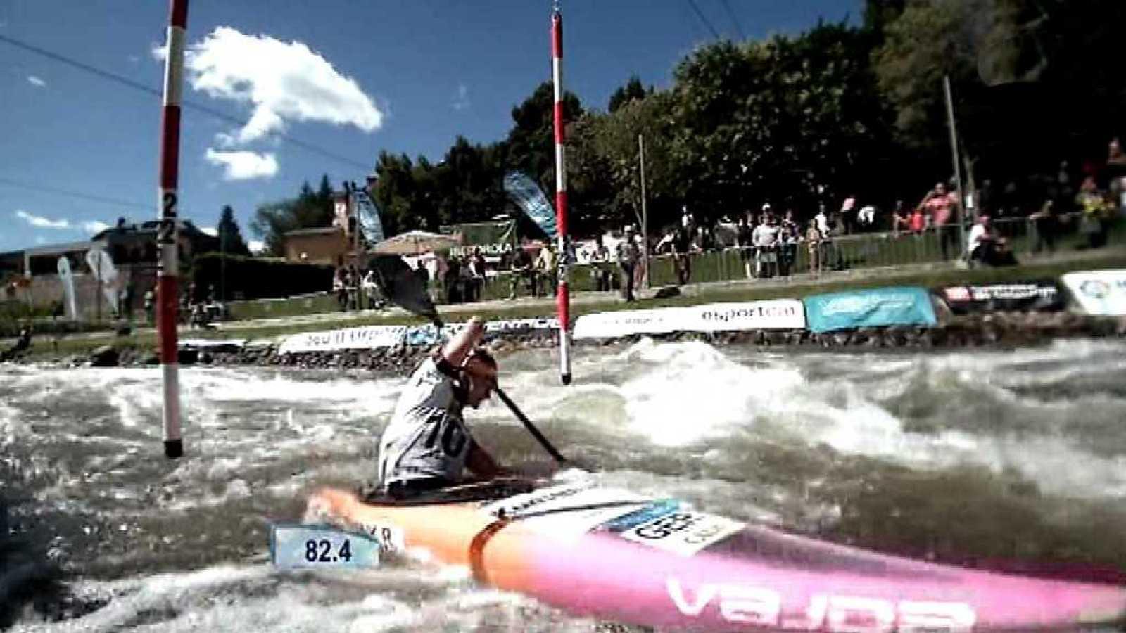Piragüismo - Copa del Mundo ICF Slalom Finales K1W, C1M y C2MX desde La Seu D'Urgell