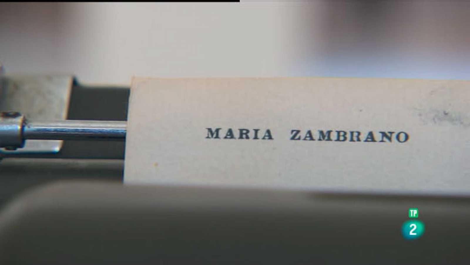 La Aventura del Saber. TVE. Fundación  María Zambrano