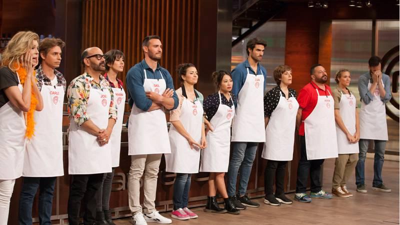 Edición especial de 'Sí, Chef' con los 12 aspirantes de MasterChef Celebrity 2