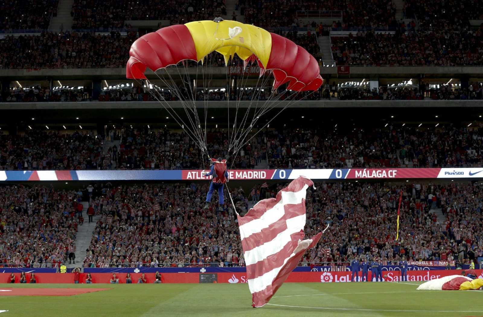 68.000 aficionados se emocionan en el estre del Wanda Metropolitano