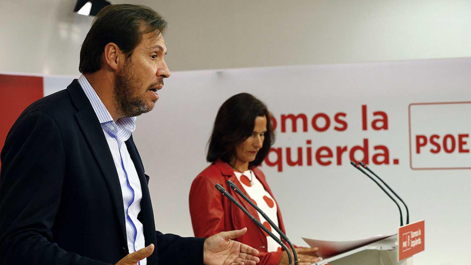Pedro Sánchez asegura que el PSOE no contempla la aplicación del artículo 155 y matiza así a su portavoz