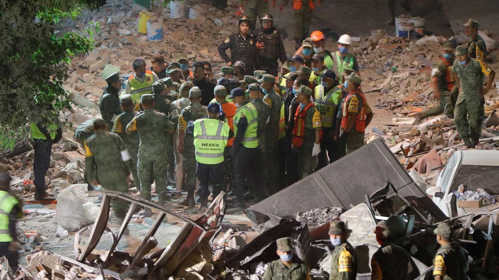 Primera víctima española en el terremoto de México