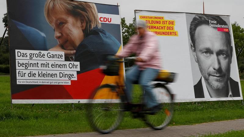 Gran cantidad de indecisos en las elecciones alemanas