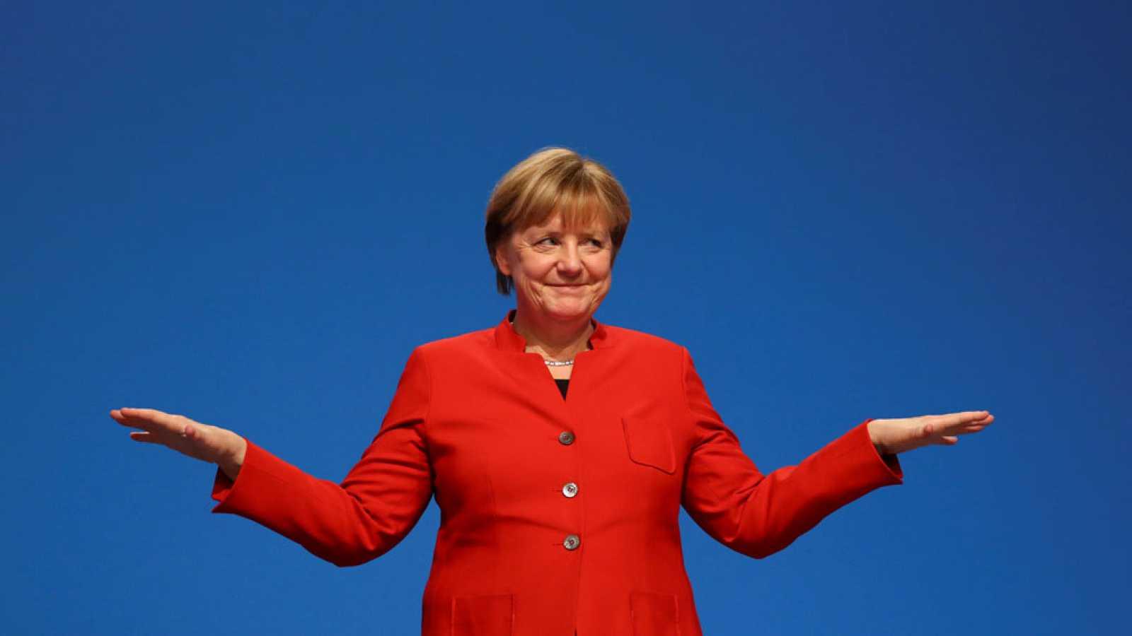 Los sondeos en las elecciones alemanas dan como ganadora a Merkel