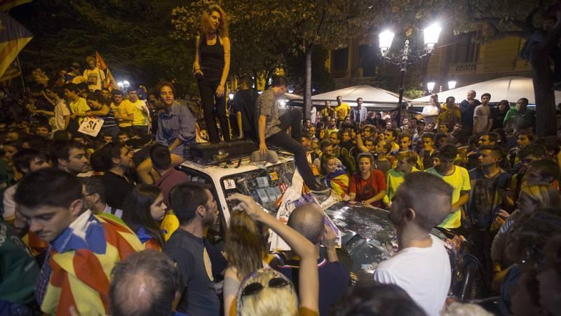 La Fiscalía presenta una denuncia por sedición por los disturbios en Cataluña