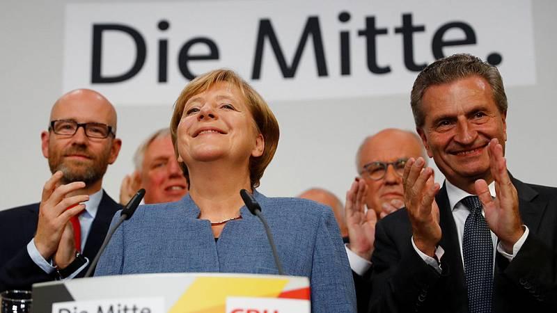 Merkel vuelve a gobernar en Alemania y la ultraderecha entra en el Bundestag