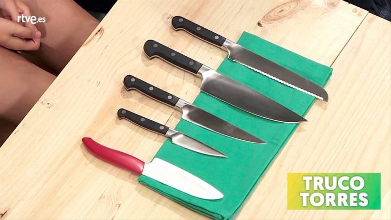 Trucos de cocina - Cómo utilizar correctamente los cuchillos
