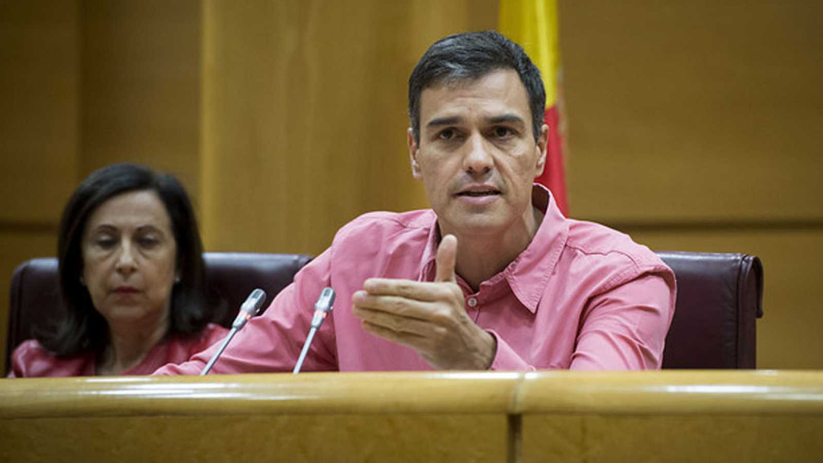 """Sánchez avisa a Podemos: """"Pueden ser la coartada para la declaración unilateral de independencia"""""""