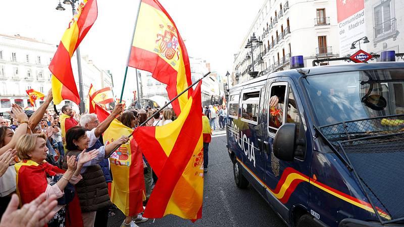 Manifestaciones por la unidad de España en Madrid y otras ciudades