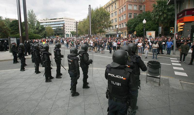 La Generalitat exige la retirada de los efectivos policiales que se encuentran en Cataluña