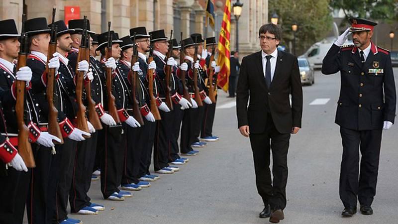 El Parlament podría declarar la independencia de Cataluña el lunes
