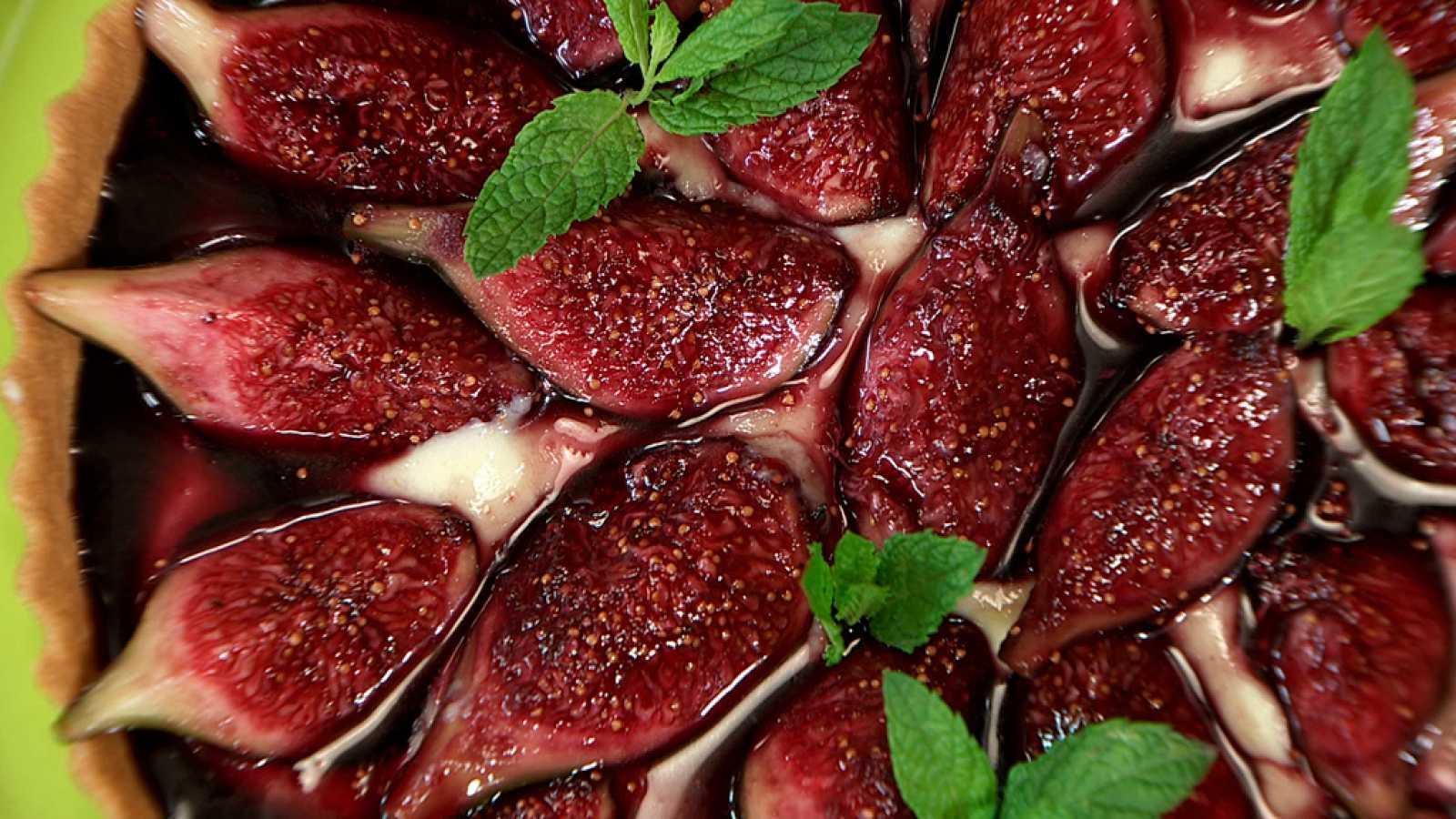 Torres en la cocina - Tarta de higos al vino