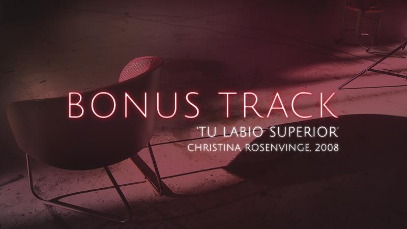 Bonus Track - 'Tu labio superior', Christina Rosenvinge (Teaser) - 06/10/17 - Ver ahora