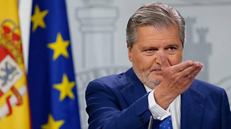 """Méndez de Vigo sobre el Consejo de Seguridad Nacional: """"Ignoro si en estos momentos está prevista alguna reunión"""""""