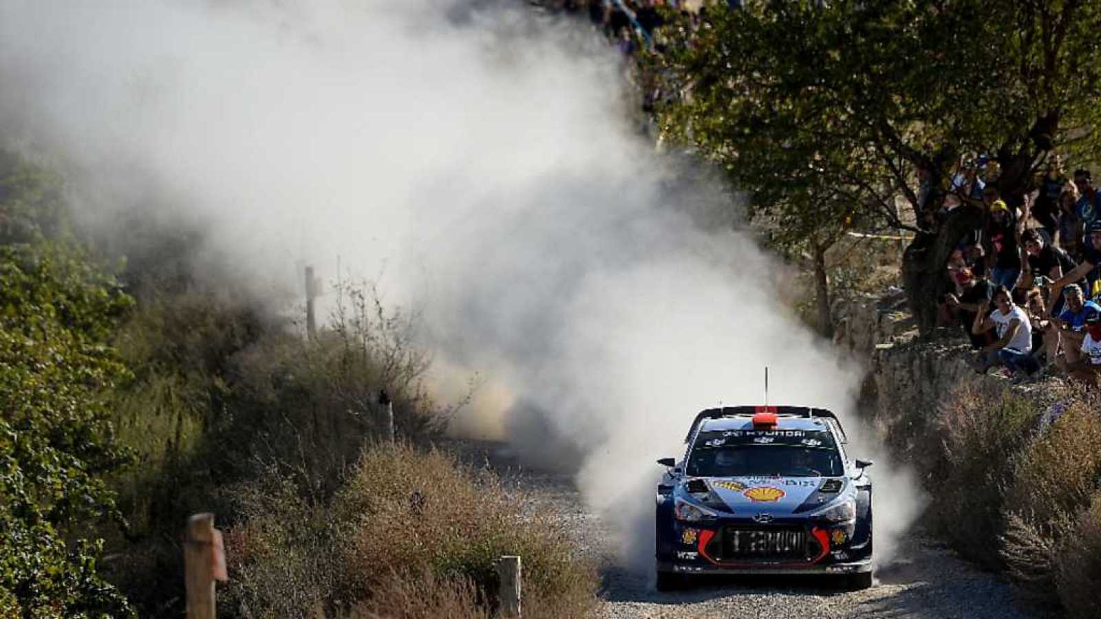 WRC - Campeonato del Mundo. Rally de RACC Cataluña-Rally de España - ver ahora