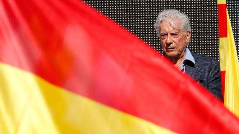 """Mario Vargas Llosa subraya que la """"conjura independentista no destruirá 500 años de historia"""""""