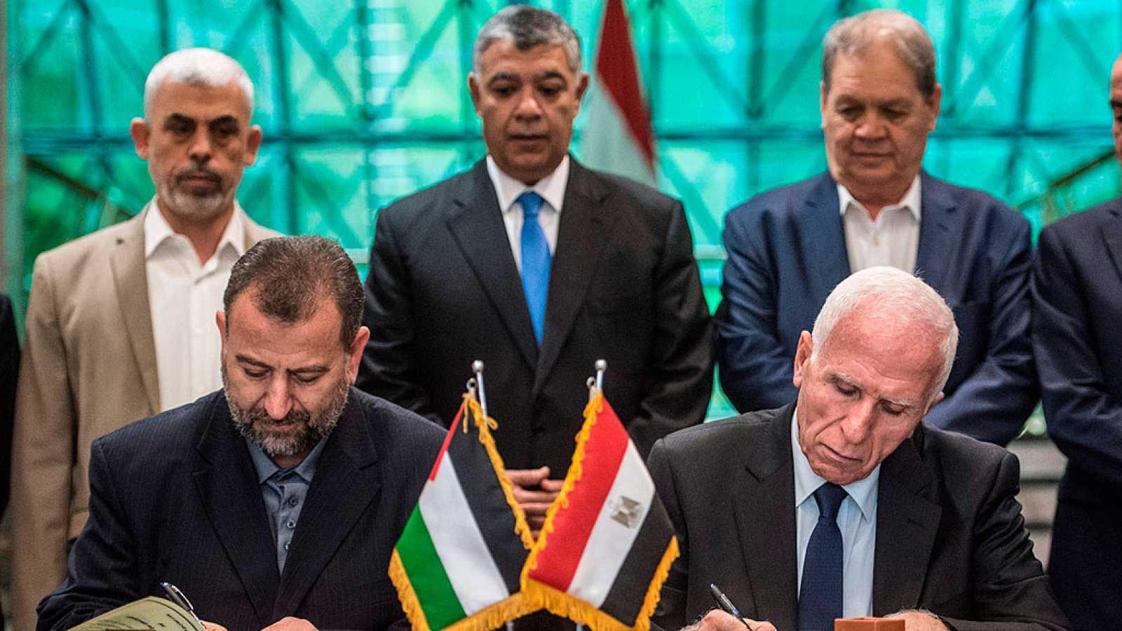 Fatah y Hamás muestran en Egipto su compromiso de completar la reconciliación