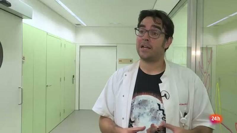 Miguel García enfermero de investigación Hospital Sant Joan de Déu