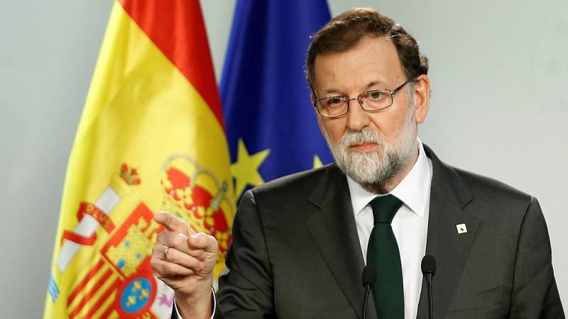 """Rajoy sobre Cataluña: """"Hemos llegado a una situación límite"""""""