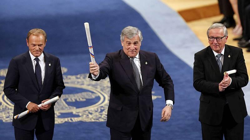 """Tajani: """"A nadie se le ocurre en la UE saltarse las normas aprobadas entre todos"""""""