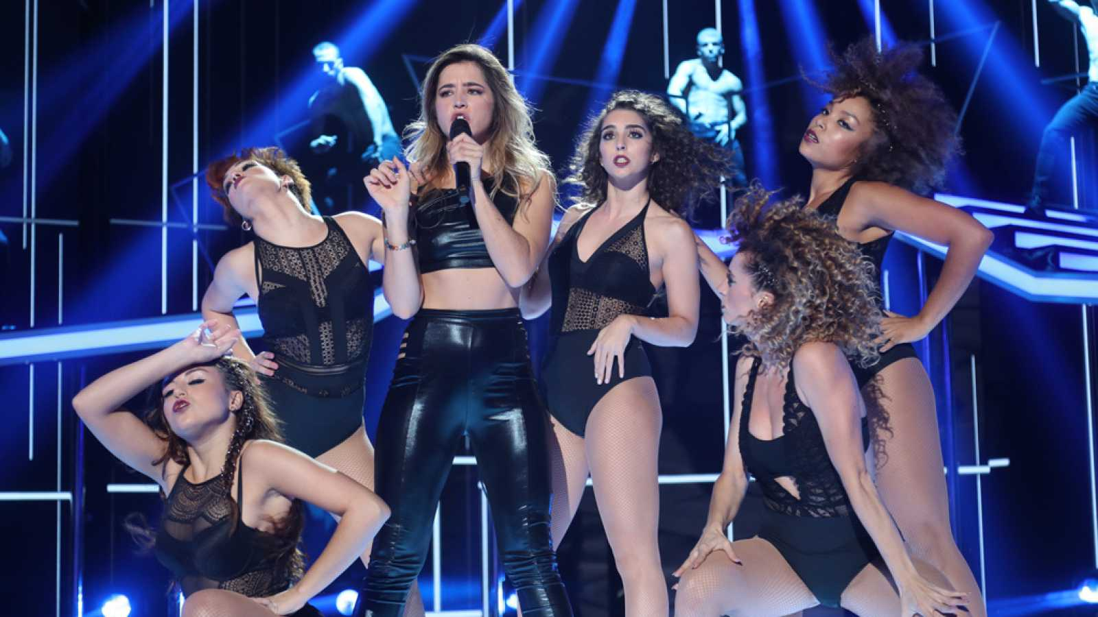Mimi canta 'Don't Cha' en la gala 0 de Operación Triunfo