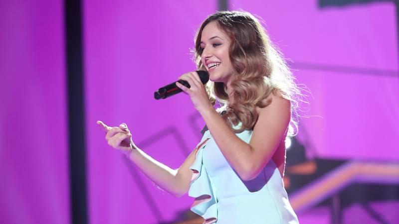 Mireya canta 'Hoy' en la gala 0 de Operación Triunfo